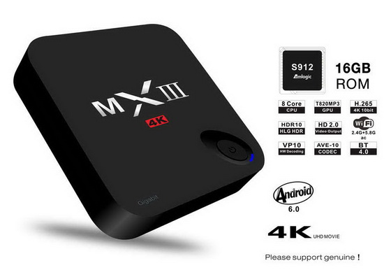 Trying to recover MXIII G II S912 TV Box from what looks like