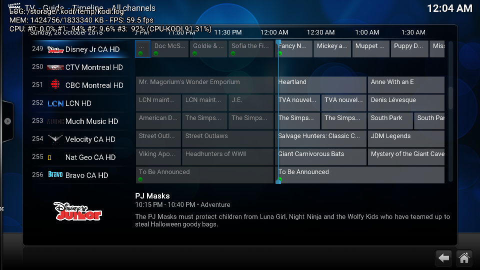 CoreELEC with IPTV Archive support - Development & Testing