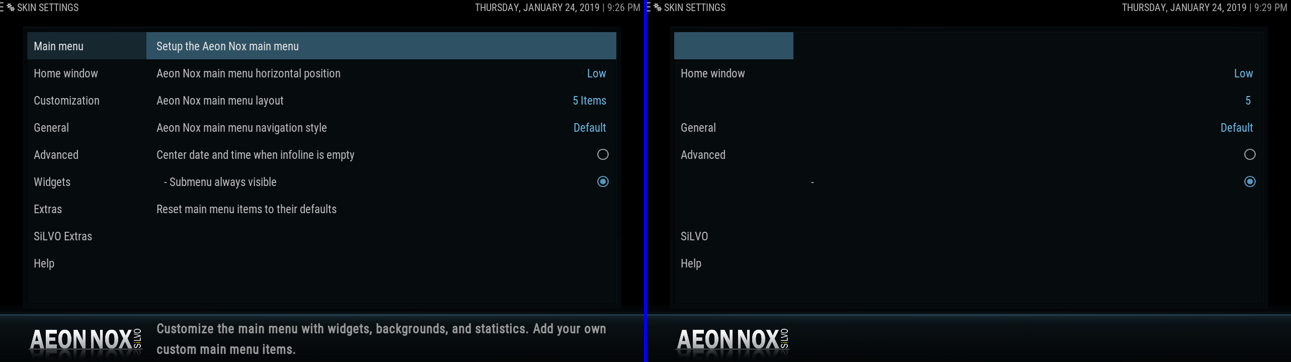 SOLVED) Missing Text using Aeon Nox SiLVO Skin - Add-ons - CoreELEC