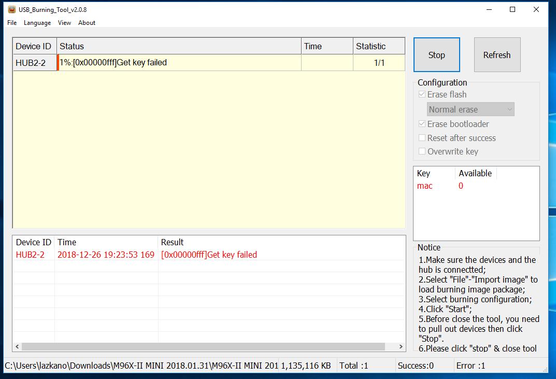 Flash firmware in M96X II Mini - Recovery - CoreELEC Forums