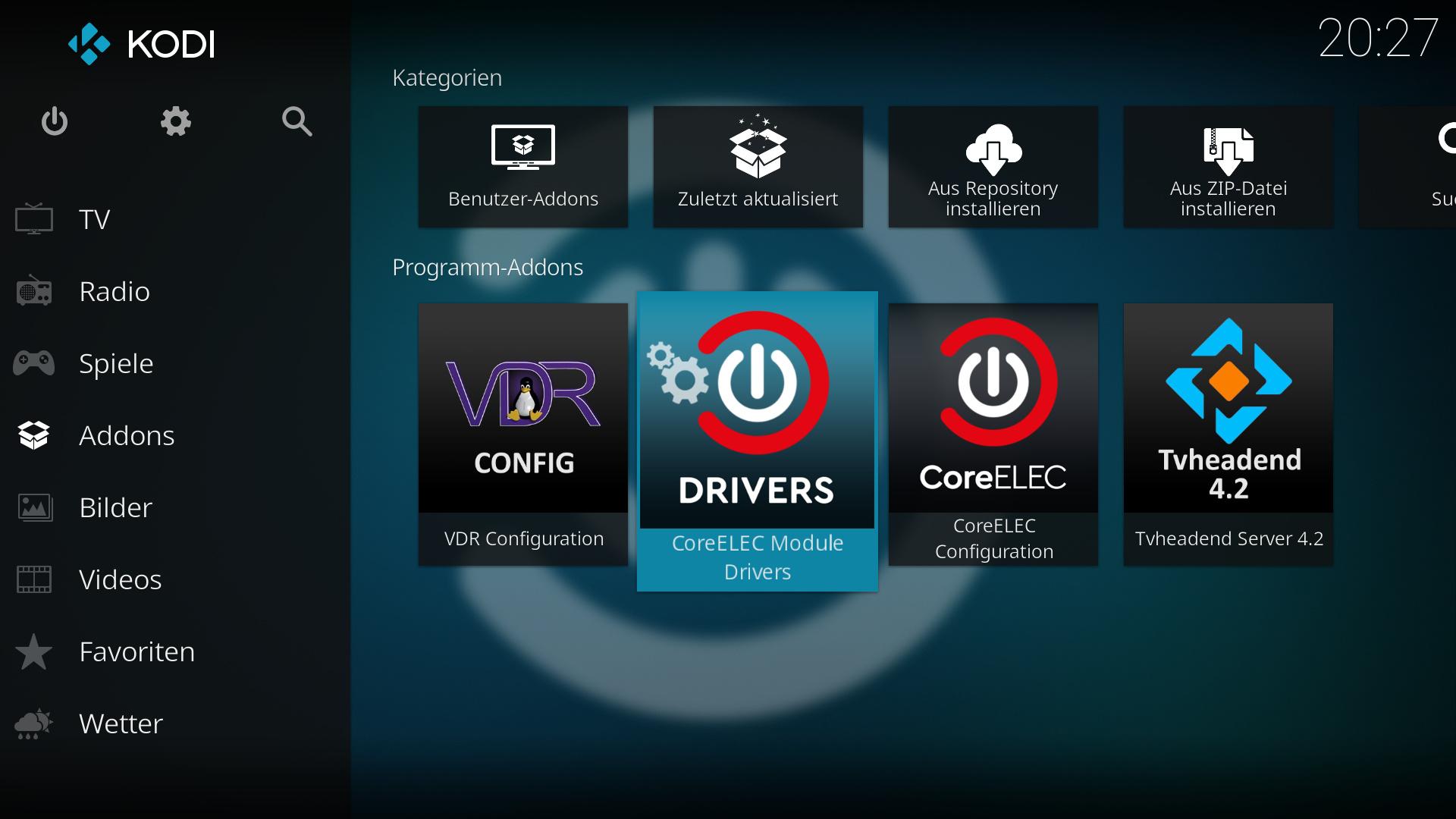 TVHeadend Server - KIII Pro Tuner not found - Tvheadend - CoreELEC