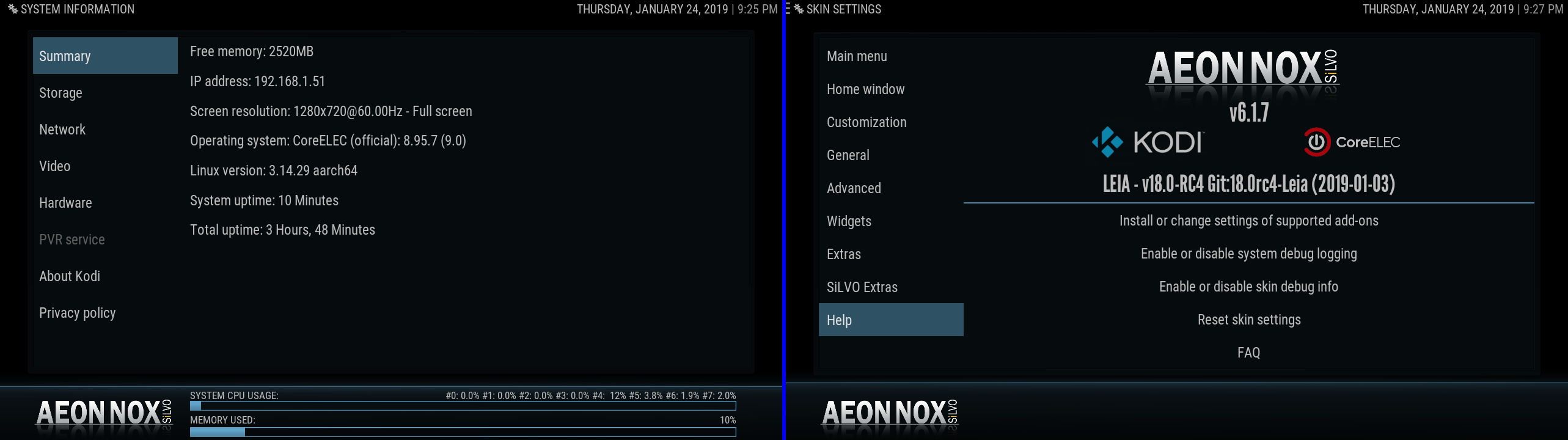 SOLVED) Missing Text using Aeon Nox SiLVO Skin - Add-ons