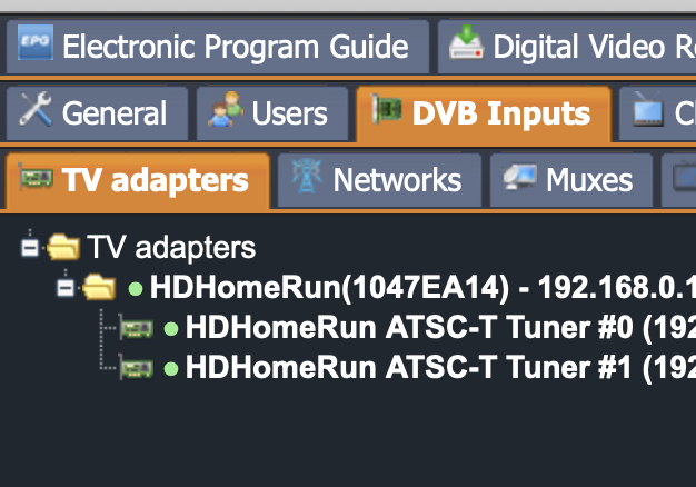 No channels found - Tvheadend - CoreELEC Forums